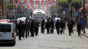 Полиция Турции применила в Стамбуле. Архивное фото