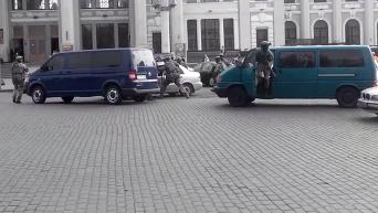 Задержание силовиками Альфы диверсантов в Одессе