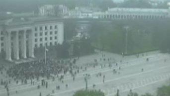 Митинг у Дома профсоюзов в Одессе в память о погибших 2 мая. Видео