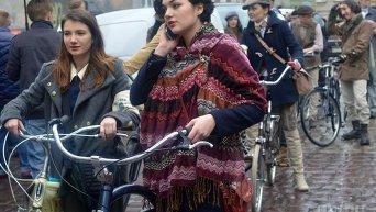День рождения Львова: Батяры на велосипедах