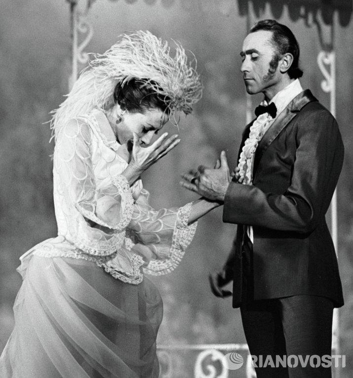 Майя Плисецкая в роли Анны Карениной