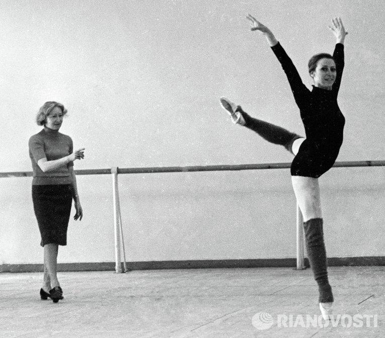 Галина Уланова и Майя Плисецкая