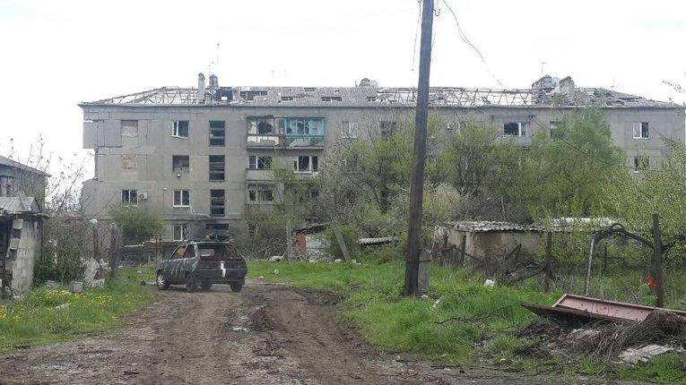 Поселок Пески под Донецком