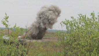 Взрыв во время учений ВСУ на полигоне в Житомирской области