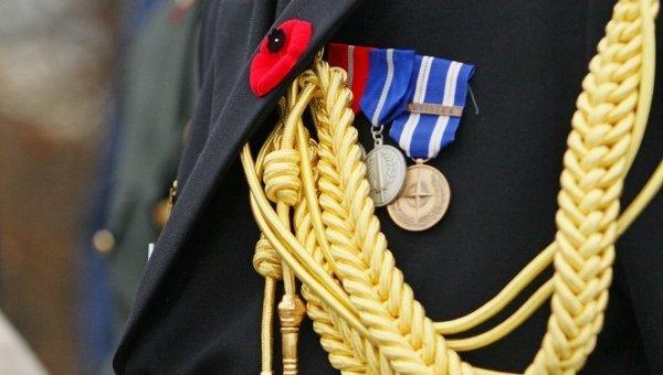 Красный мак, ордена и медали