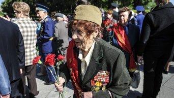 Ветеран ВОВ. Архивное фото