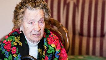 Ветеран Великой Отечественной войны Валентина Самойлова