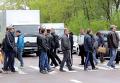 Шахтеры перекрыли дорогу в селе Литовеж