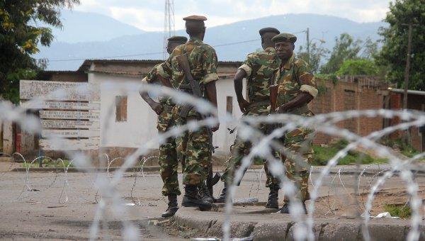 Протесты в Бурунди