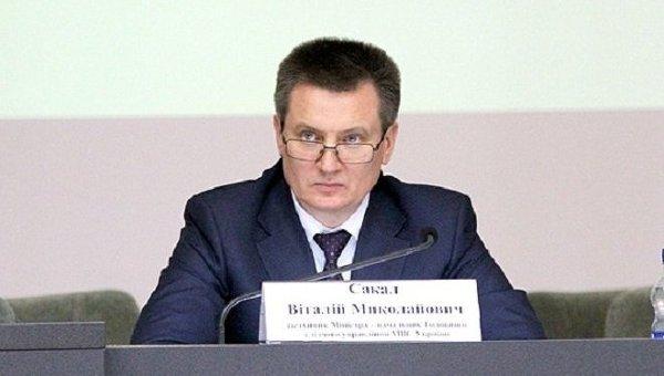 Бывший заместитель министра внутренних дел Украины Виталий Сакал