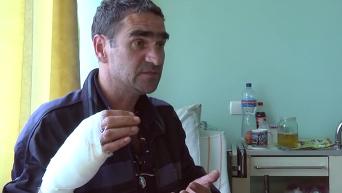 Свидетельства пострадавших от вооруженного нападения в Киеве. Видео