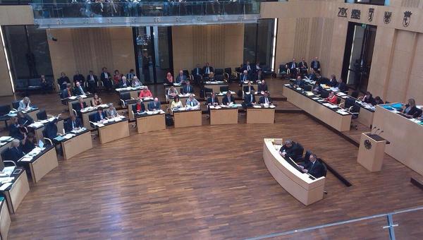 Заседание Бундесрата Германии