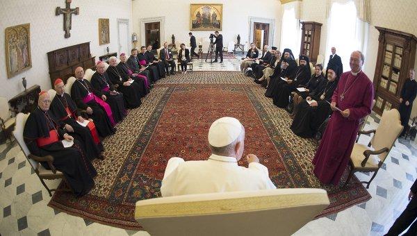 Папа Франциск принял членов Совместного комитета Совета Конференций епископов Европы и Конференции европейских Церквей.