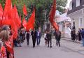 В Симферополе открытие памятного знака в честь Сталина закончилось дракой. Видео