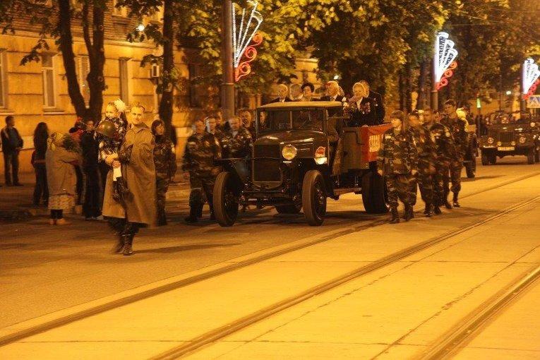 Торжественные мероприятия в Кривом Роге в День Победы