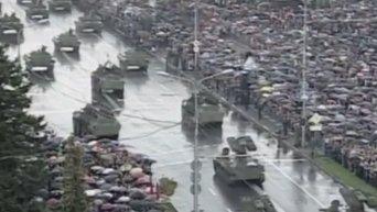 Парад 9 мая в Донецке