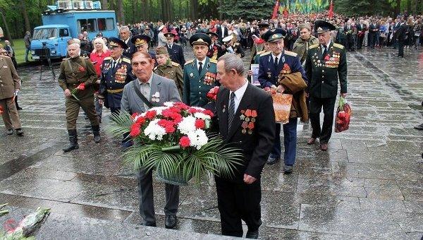 Возложение цветов в Харькове