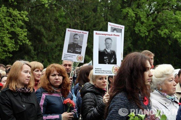Харьковчане восприняли как провокацию требование снять георгиевские ленточки