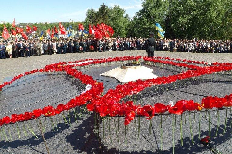 День Победы в Житомире