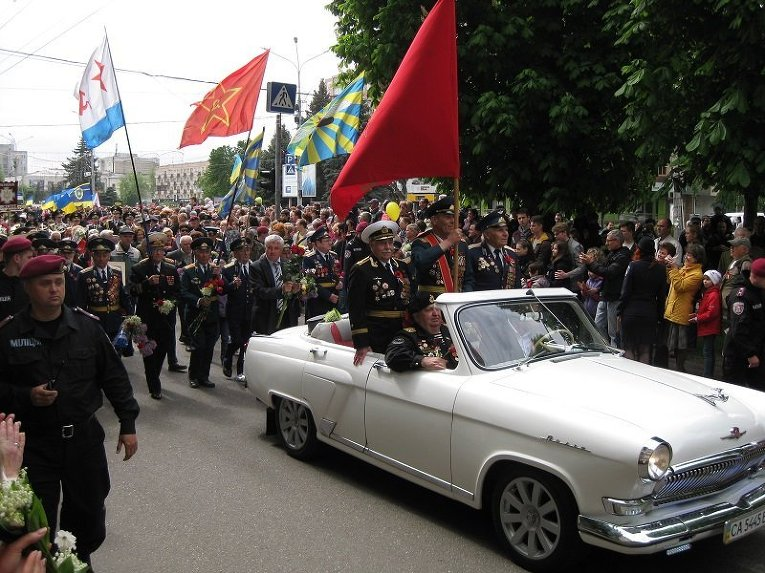 Парад Победы в Черкассах