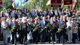 Празднование Дня Победы в  Одессе