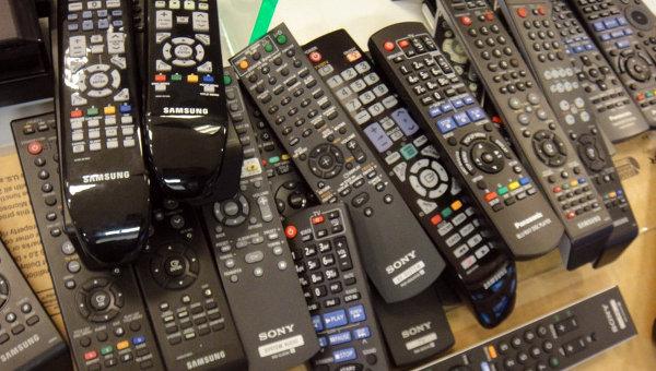 Пульты от телевизора