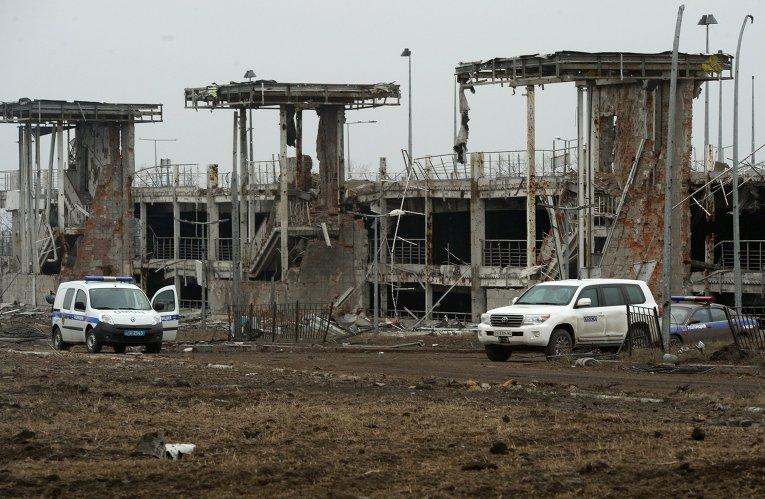 Представители миссии ОБСЕ посетили аэропорт Донецка