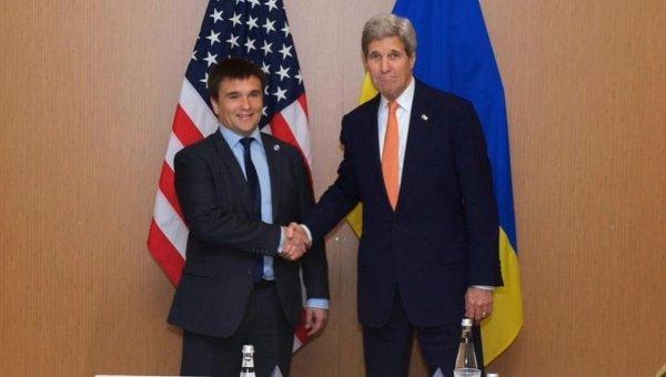 Павел Климкин и Джон Керри