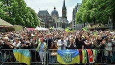 Встреча президента Порошенко с украинской диаспорой в Германии
