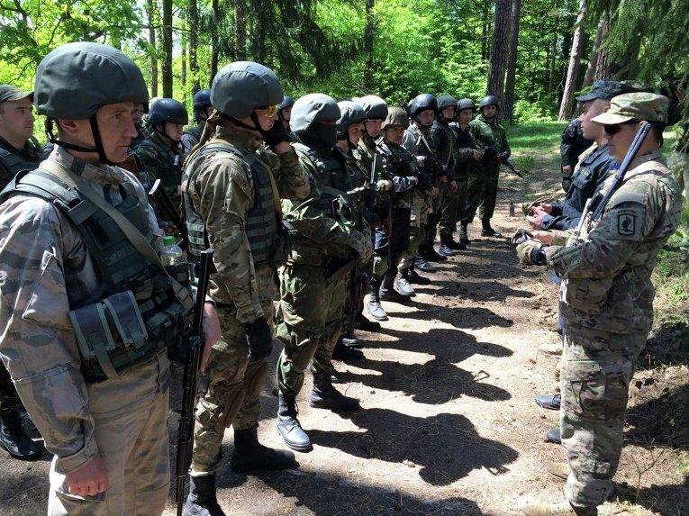 Украино-американские учения