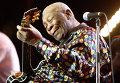 Би Би Кинг выступает на фестивале в Марокко