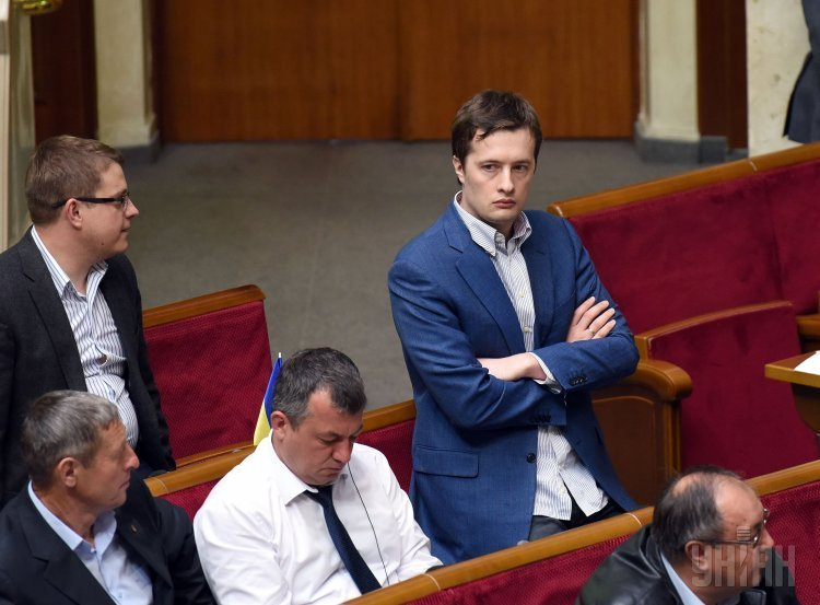 Народный депутат от фракции Блок Петра Порошенко Алексей Порошенко