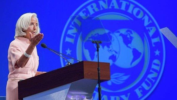 Глава Международного валютного фонда (МВФ) Кристен Лагард