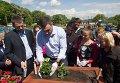 В Киеве отметили 65-летие создания Евросоюза выставкой цветов