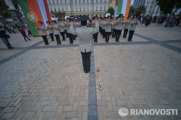 Празднование Дня Европы в Киеве