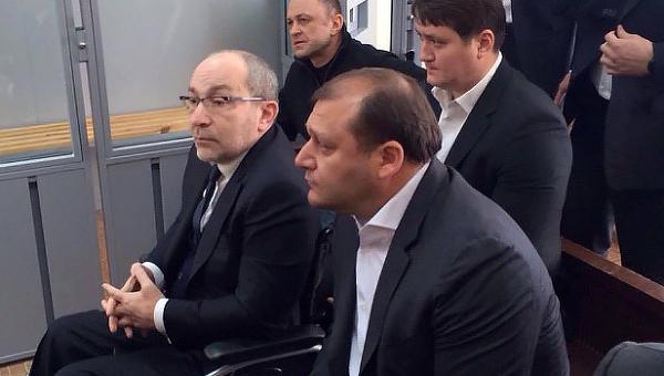 Геннадий Кернес и Михаил Добкин. Архивное фото