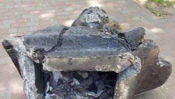 В Харькове неизвестные сбили с постамента бюст советского коммуниста Сергея Кирова