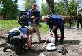Сотрудники миссии ОБСЕ в Донецке. Архивное фото