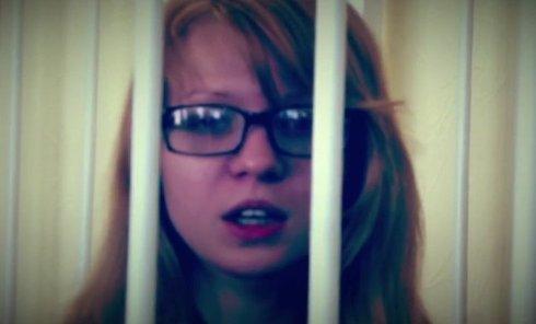 Вита Заверуха в зале суда. Видео