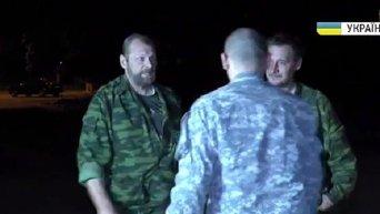 Освобождение бойцов ВСУ из плена