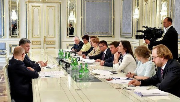 Заседание по либерализации визового режима с ЕС
