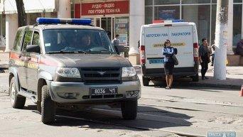 Операция по освобождения заложников в Одессе