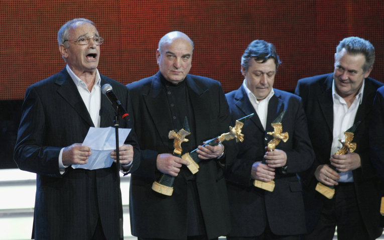 VI торжественная церемония вручения Национальной премии в области кинематографии Золотой Орел