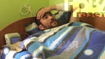 Задержанный в Луганской области российский военный. Интервью. Видео
