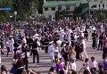 Рекорд Украины: в Харькове 1,5 тысячи пар одновременно станцевали вальс