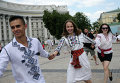 Мегамарш вышиванок в Киеве