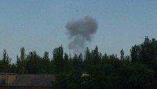 В Донецке прозвучал сильный взрыв