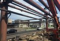 Ситуация на Авдеевском коксохимическом заводе после обстрелов