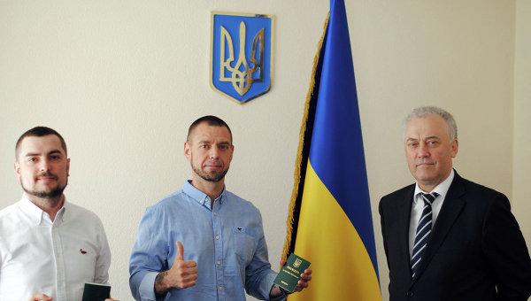 Сергей Михалок получил вид на жительство в Украине