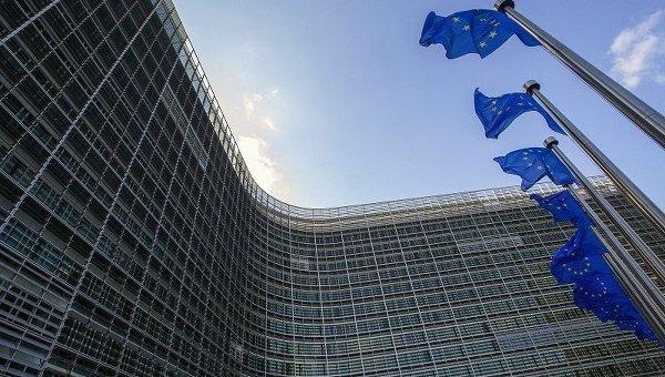 Здание Евромиссии в Брюсселе, Бельгия. 5 мая 2015 г.